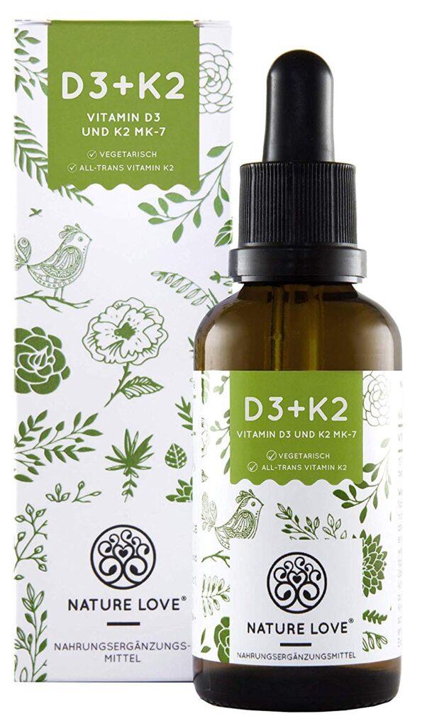 Vegan Leben - Vitamin D3 + K2 für Veganer