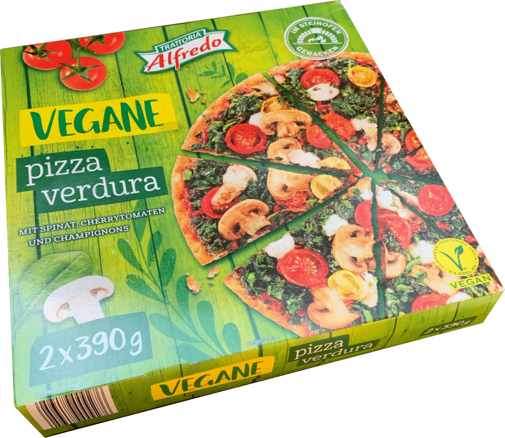Vegane Pizza Lidl
