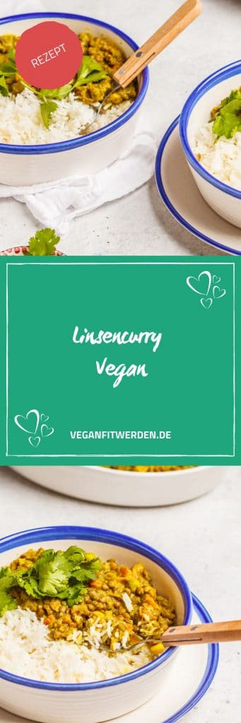 Linsencurry Vegan