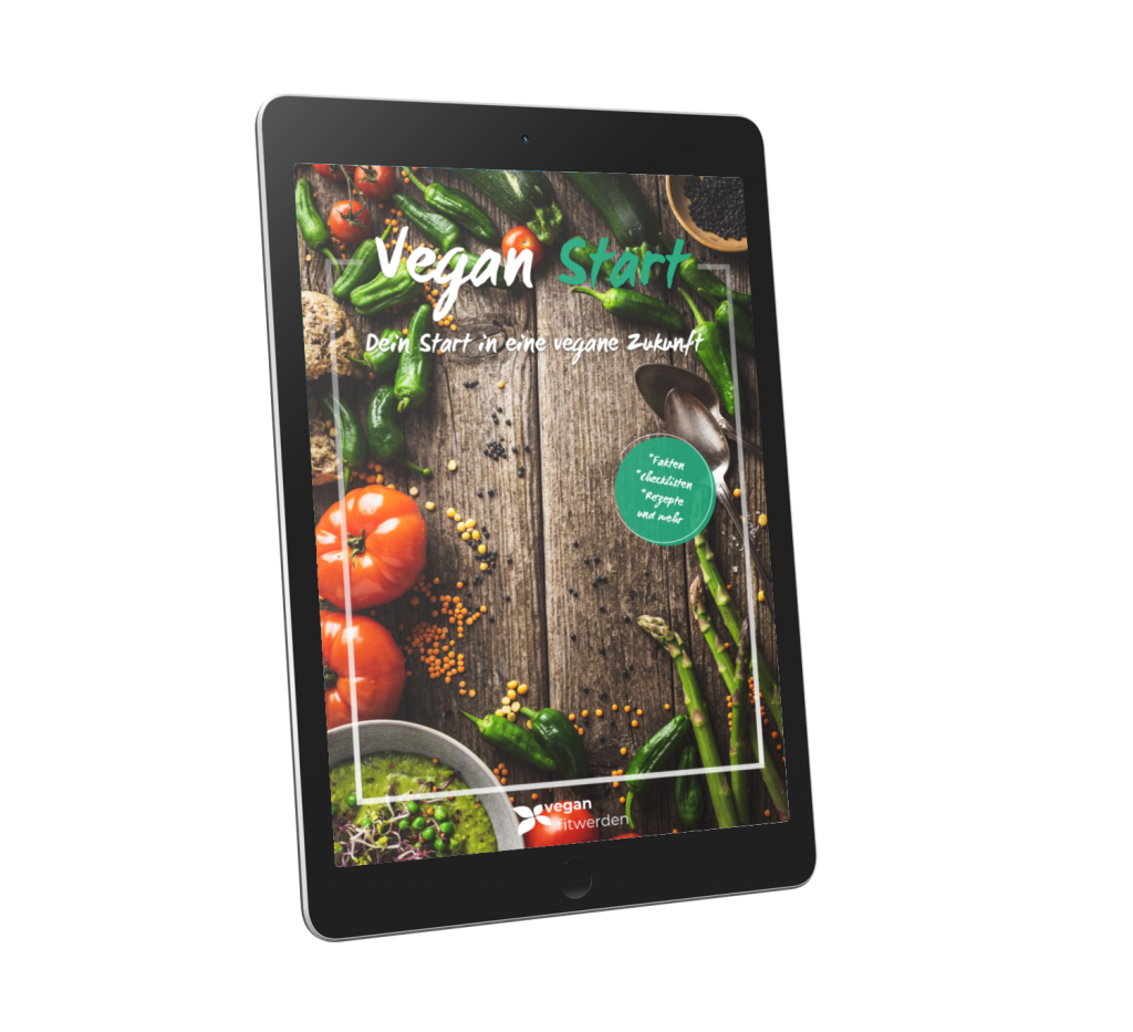 Vegan Start Buch Tablet