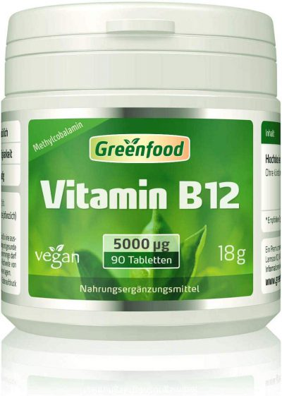Vitamin B12 Tablette Hochdosiert